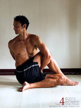 hip and shoulder stretches