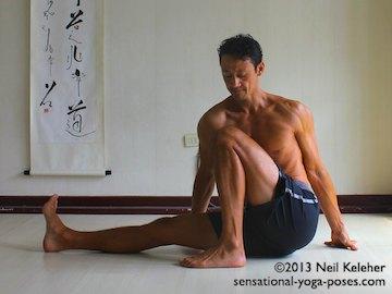 marichyasana yoga poses