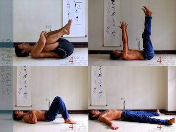 resting positions for the end of a basic yoga pose practice. Neil Keleher. Sensational Yoga Poses.